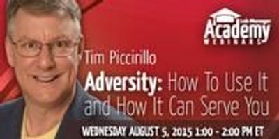 Webinar - Adversity: How To Use It and How It Can Serve You