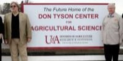 $5 Million Tyson Gift Lifts New Agriculture Research Center