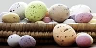 Dino Eggs Shape Easter Eggs