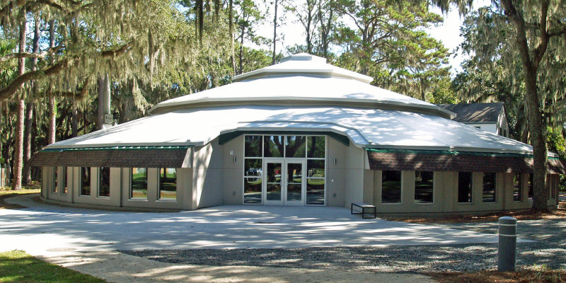 Exterior view of UGA's Ocean Sciences Instructional Center