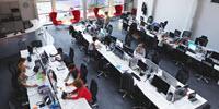 Optimize Open Floor Plans by Shuffling Workstations
