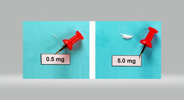 Detecting Small Amounts of Fentanyl
