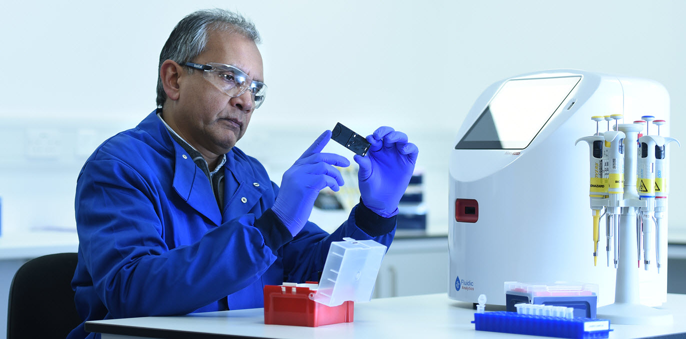Fluidic Analytics Launches Rapid, Easy-To-Use Protein Labeling Kit