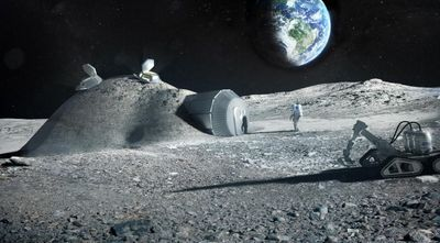 Could Astronaut Urine Be Used to Build Moon Bases?