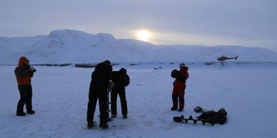 Greenland Ice Sheet Meltwater Can Flow in Winter, Too
