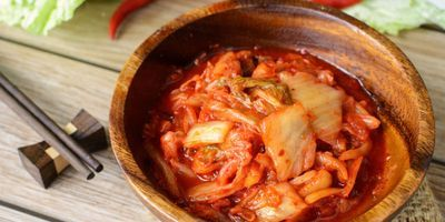 New Insights into Kimchi Garlic and Cabbage Fermentation Process