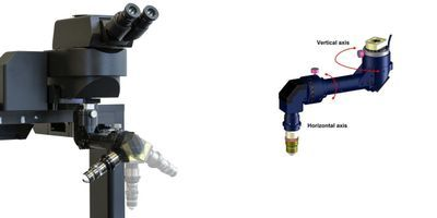 Off-Angle Brain Imaging in Multiphoton Microscopy