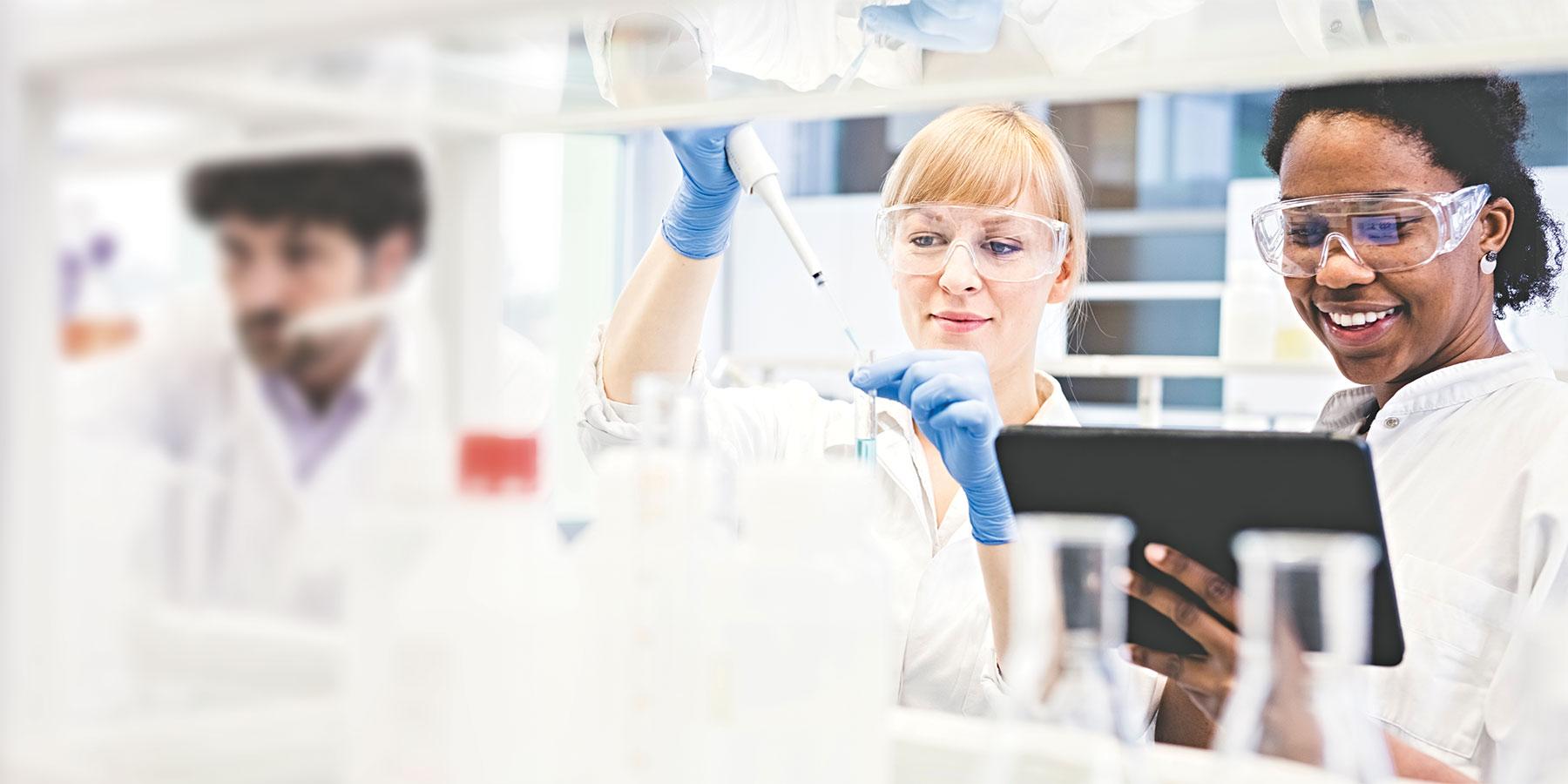 Cross-Training in a Lab