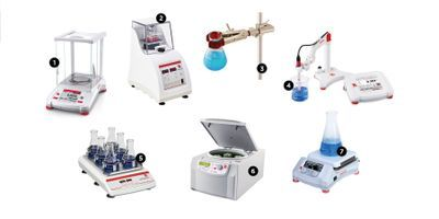 Ohaus Now Features a Full Range of Benchtop Laboratory Equipment