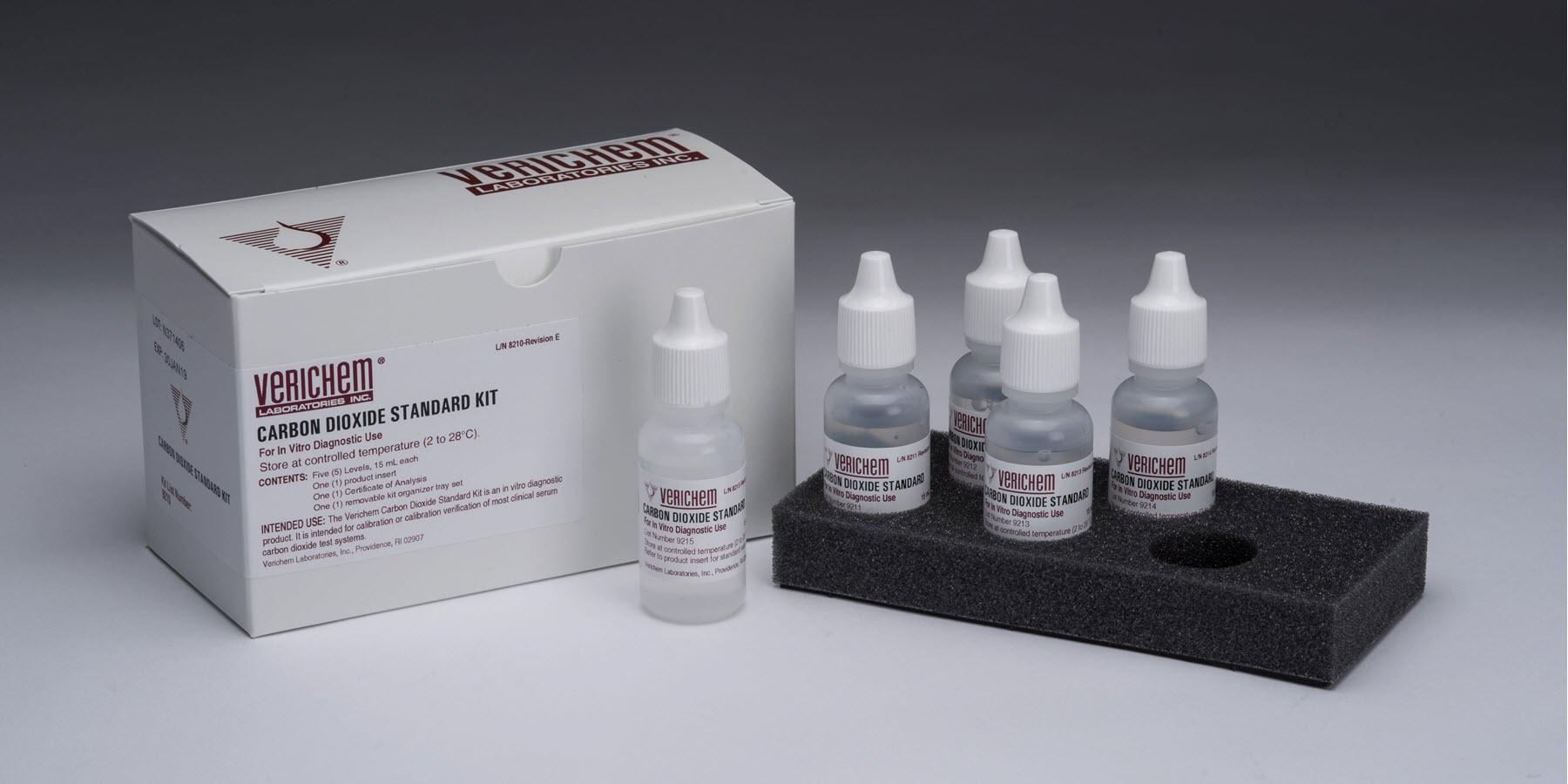 Verichem Laboratories Offer CLIA Compliant, Liquid Stable, CO2 Reference Standards