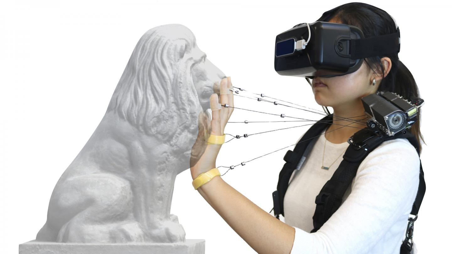 New Device Simulates Feel of Walls, Solid Objects in VR | Lab Manager