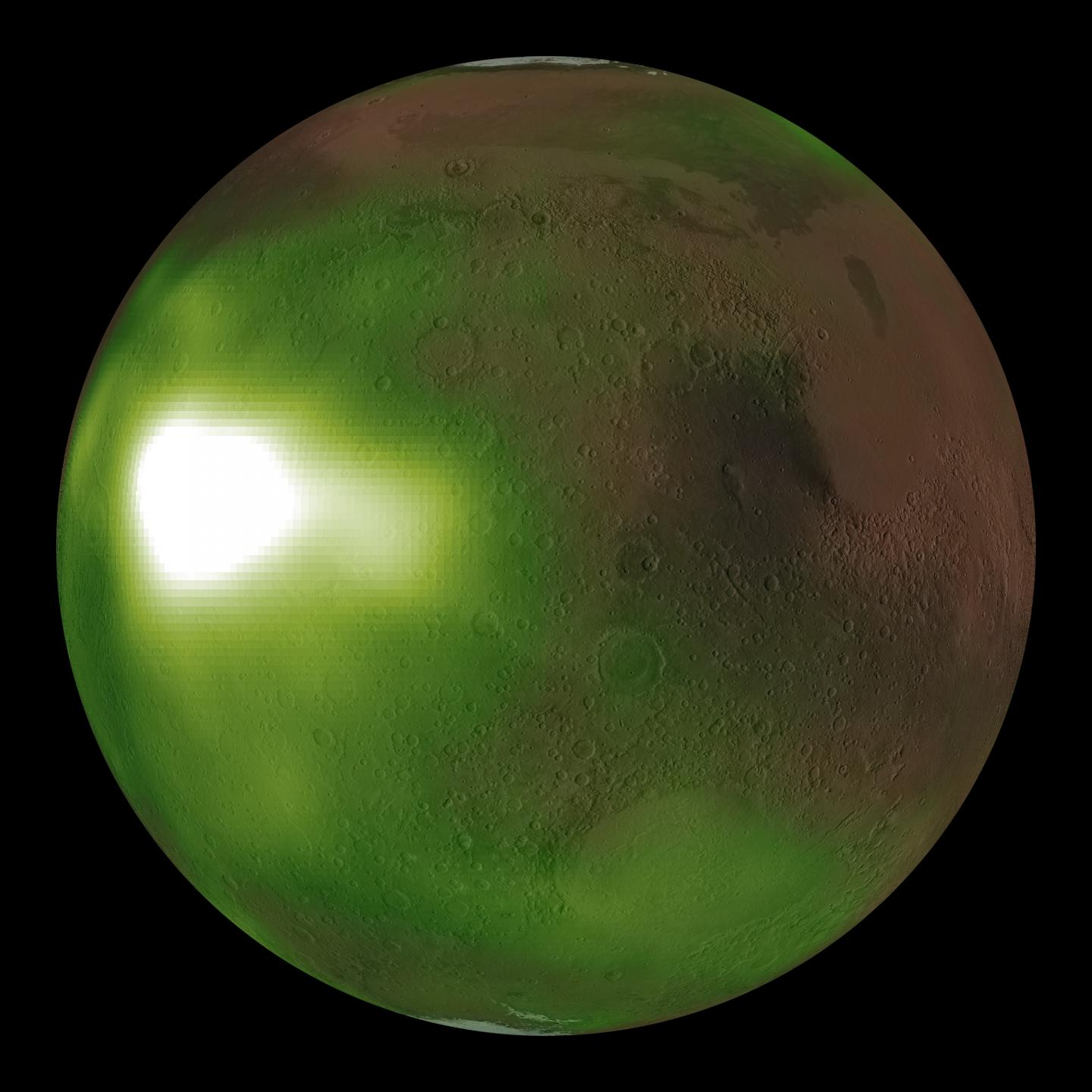 Mars' invisible auroras come to life in new NASA animation