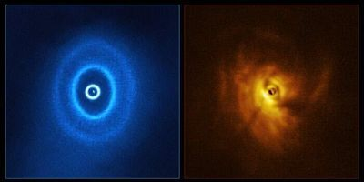 """Scientists Discover a Warped Disc """"Torn Apart by Stars"""" in a Triple Tatooine-Like System"""