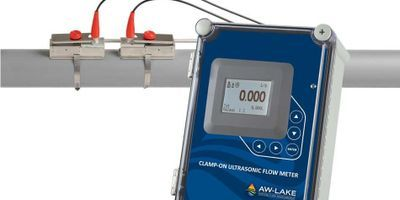 AW-Lake Introduces Clamp-on Ultrasonic Flow Meters
