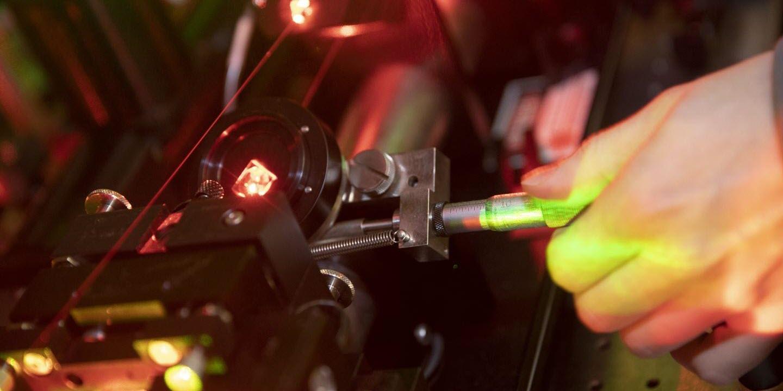 Team Uses Laser to Cool Polyatomic Molecule