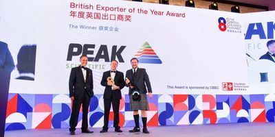 Peak Scientific wins British Exporter of the Year Award