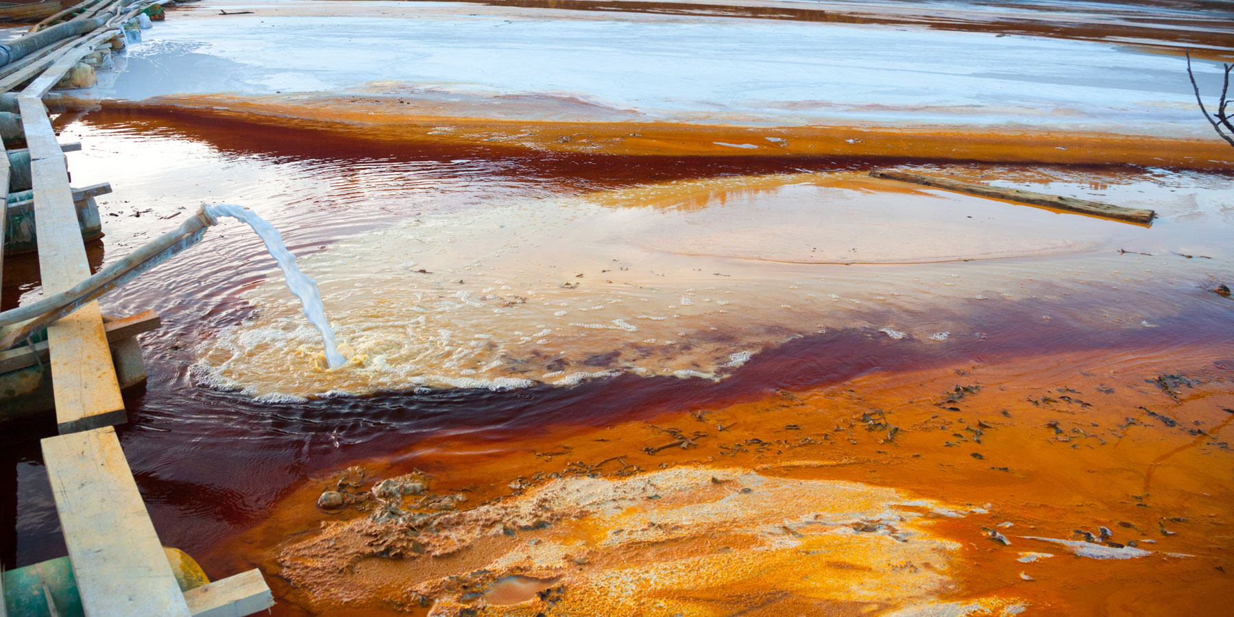 New Material 'Mines' Copper From Toxic Wastewater