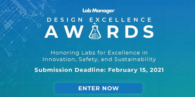 Lab Manager Announces Second Annual Lab Design Excellence Awards