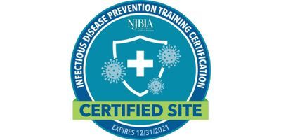 NJBIA Certifies HORIBA NJ Office as a Certified Site for Infectious Disease Prevention