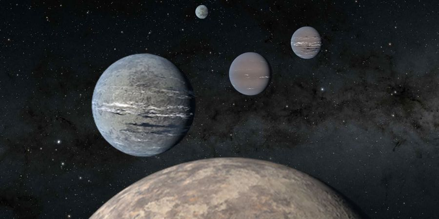exoplanets orbiting nearby bright sun like star toi 1233 m.