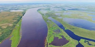High Greenhouse Gas Emissions from Siberian Inland Waters