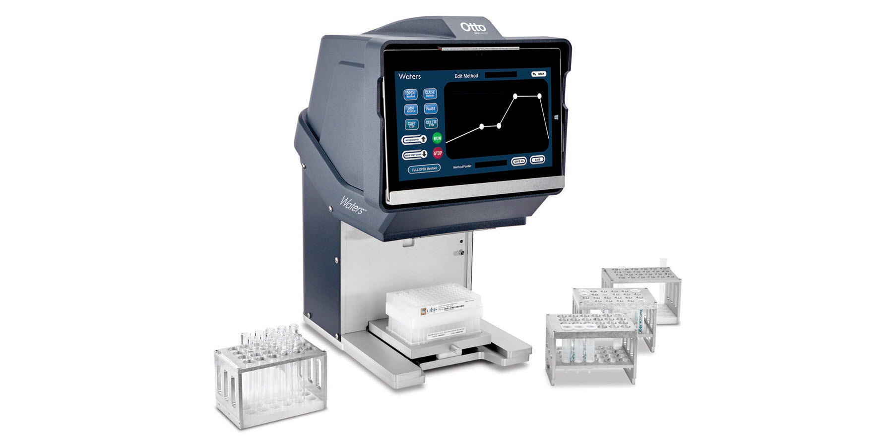 Waters Otto SPEcialist Positive Pressure Manifold Improves Reproducibility and Reliability of Solid-Phase Extraction