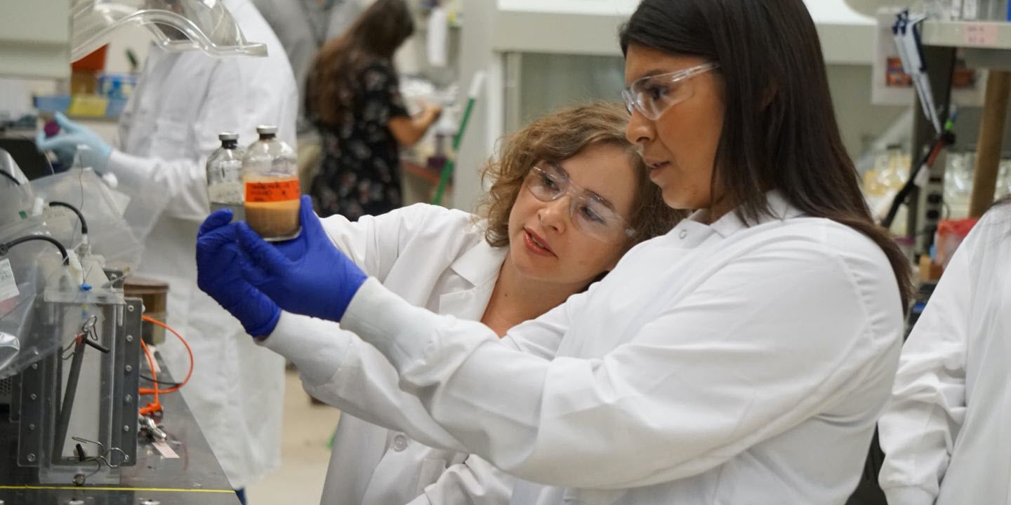 Harvesting Useful Products from Microbial Growth
