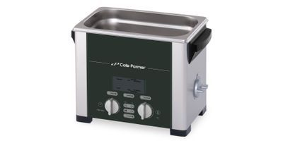 Handle Both Tough and Gentle Applications with the New Cole-Parmer® Ultrasonic Cleaners