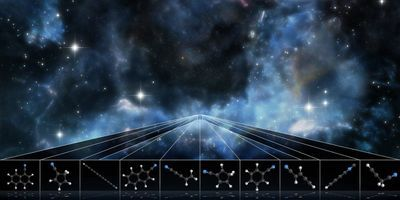Scientists Uncover Numerous Complex Molecules Never Before Seen in Space