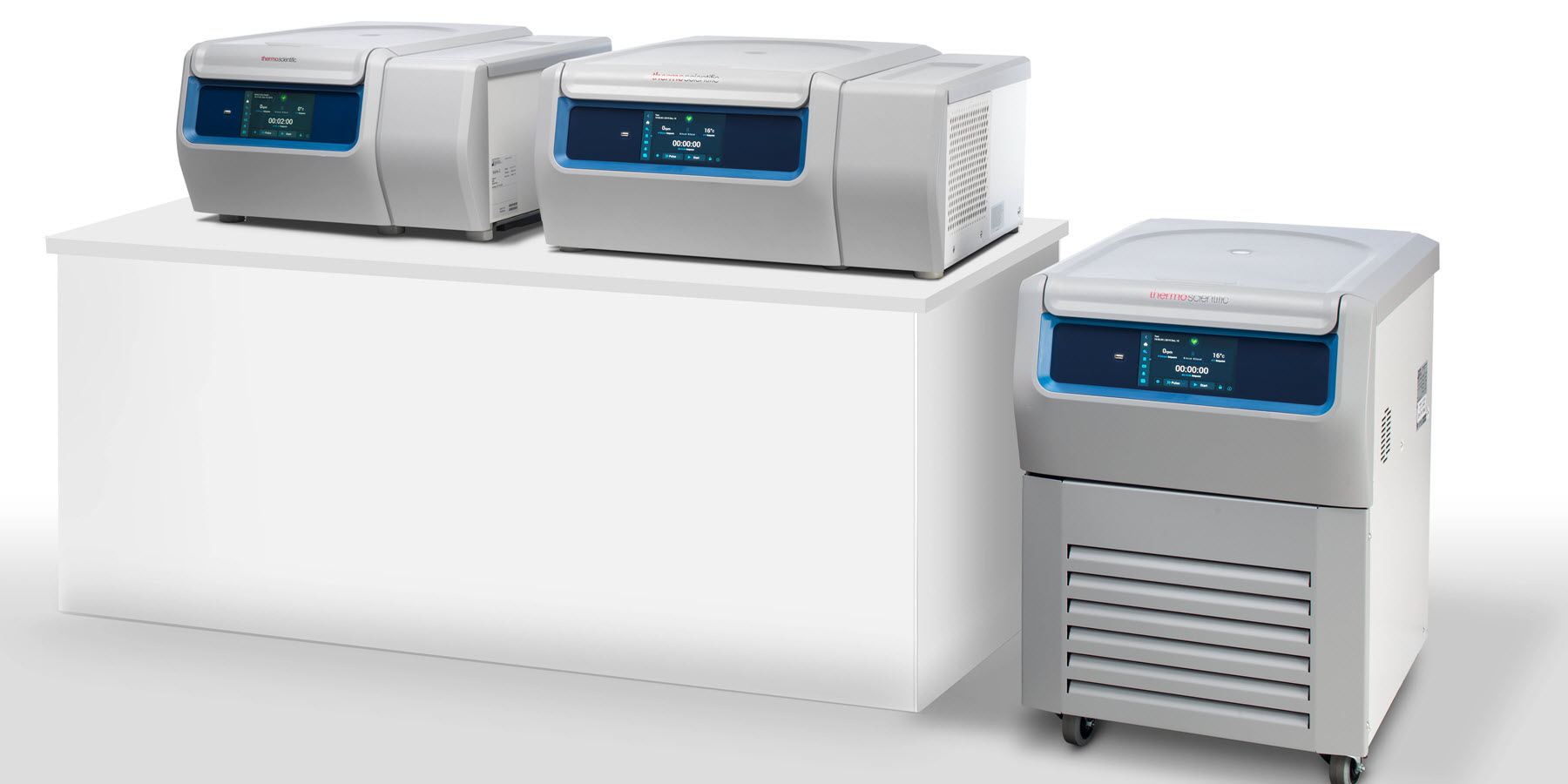 New Centrifuges Deliver Optimal Sample Safety, Functionality, and Ergonomics