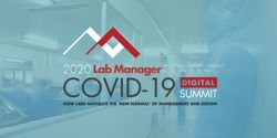 Experts Discuss COVID-19 Impacts to the Laboratory