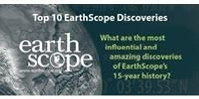 EarthScope Announces Top 10 Discoveries List