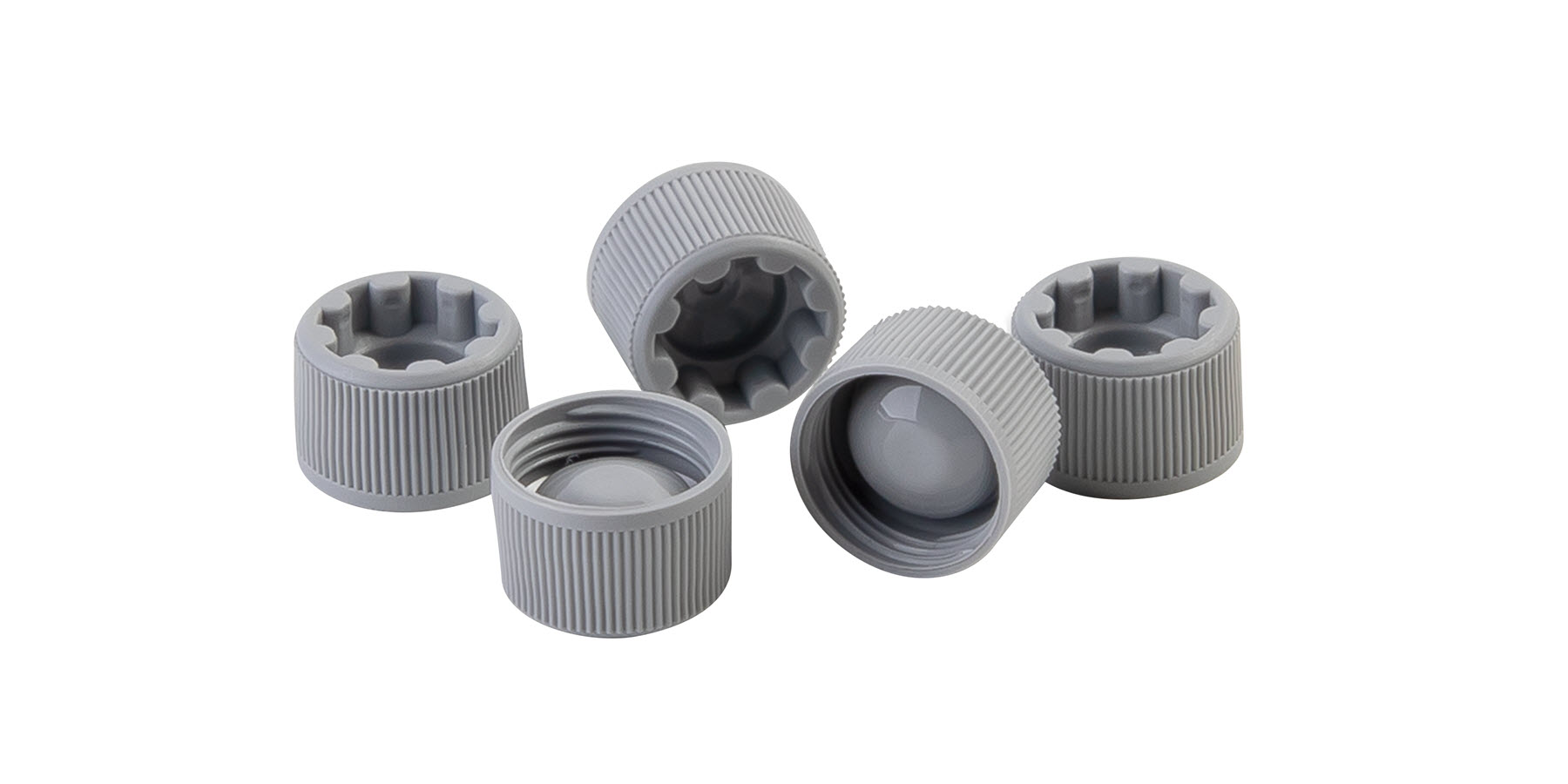 Novel Screw Caps Optimized for Automated Handling
