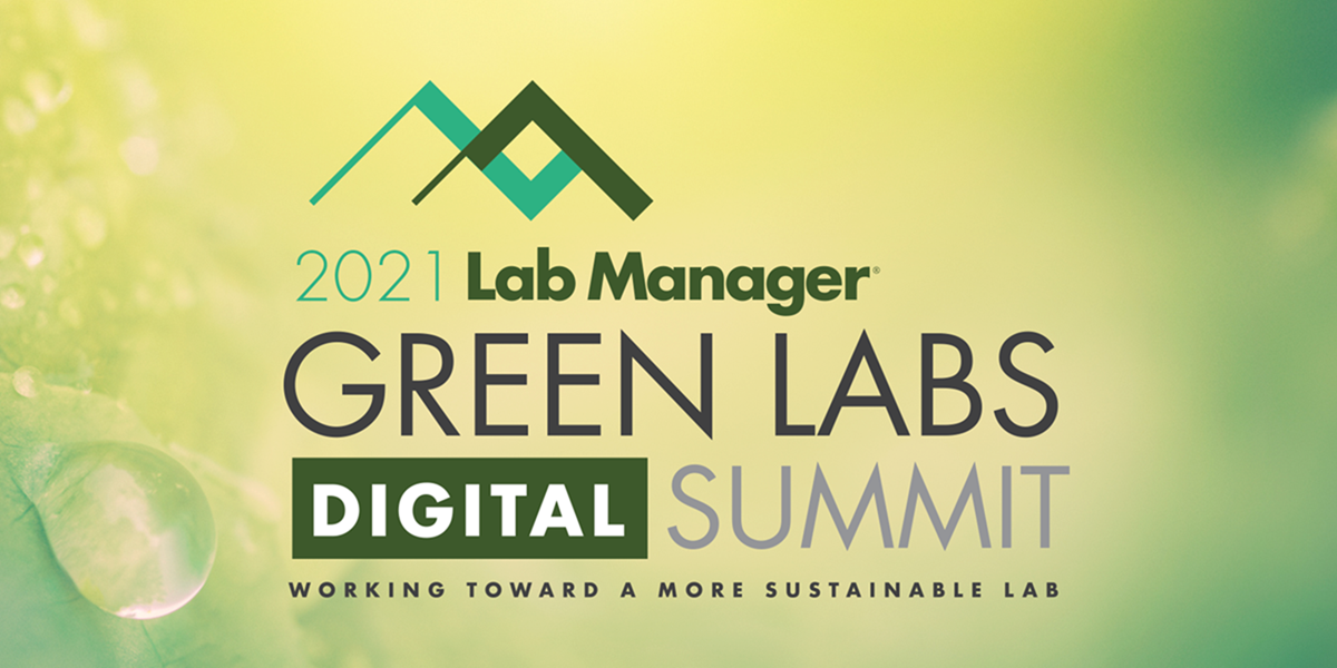 Lab Manager Green Labs Digital Summit