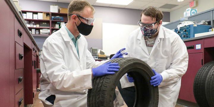 Forensic Scientists Unlocking Unique Chemical Signatures in Tires