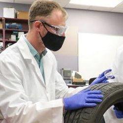 Forensic Scientists Unlocking Unique Chemical Signatures in Tires