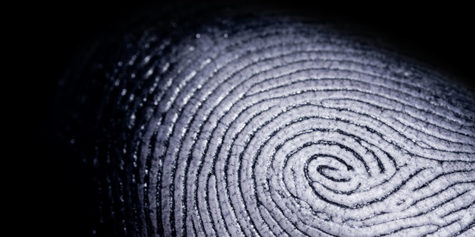 A 'Sandblasting' Technique to Detect Fingerprints