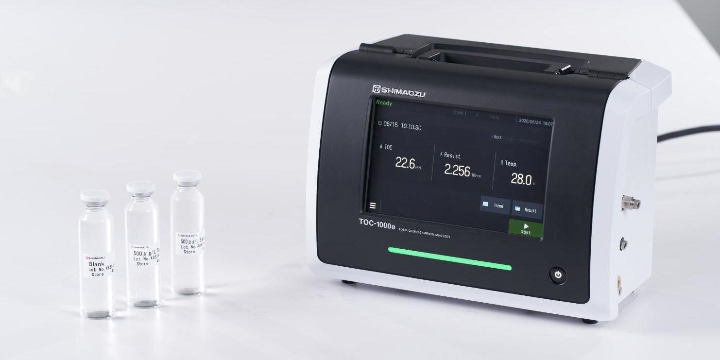 Shimadzu Introduces High-Sensitivity Online Total Organic Carbon Analyzer for Ultrapure Water Measurement