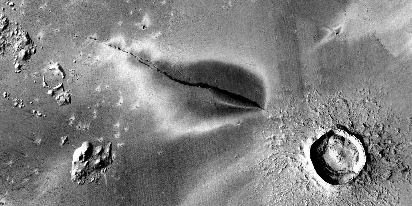 Volcanoes on Mars Could Be Active