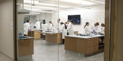 Law Library Transformed into Modern Science Labs