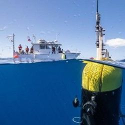 "Underwater Robot Offers New Insight into Mid-Ocean ""Twilight Zone"""