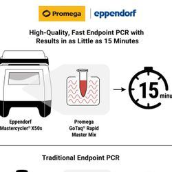 Biotech and Pharma Labs Performing Endpoint PCR Can Reduce Amplification Time to 15 Minutes