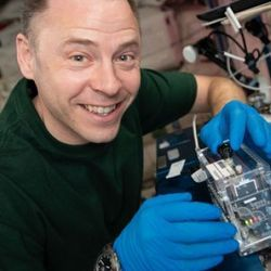 ISS Experiment Expands DNA Research Toolkit Using CRISPR