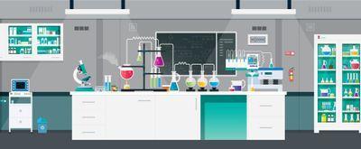 new lab setup