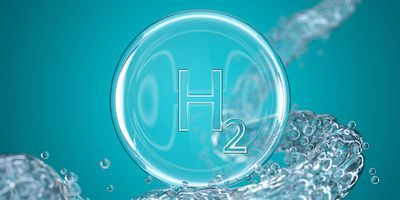 Representation of Hydrogen pulled from water
