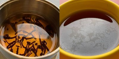 Tea Time Gets Flavor Boost from Thin Film, Impure Water