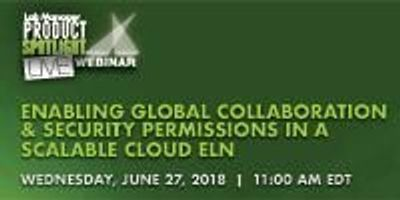 Enabling Global Collaboration & Security Permissions in a Scalable Cloud ELN