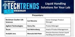 Liquid Handling Solutions for Your Lab