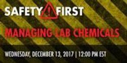 Managing Lab Chemicals