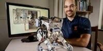 Human Reflexes Keep Two-Legged Robot Upright